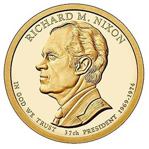 2016 D Richard M. Nixon - Bankroll of 25 Presidential Dollars Uncirculated