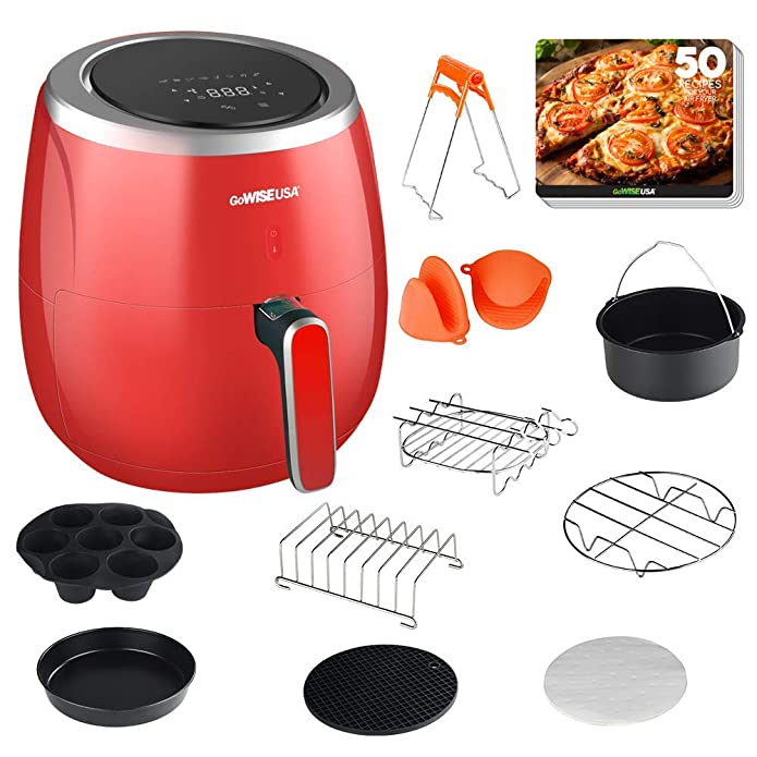 5.3 Quart Air Fryer XL with 10 Accessories