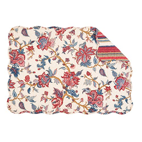 - Ava Quilted Placemat Set of 6