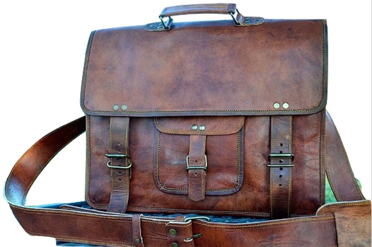 Leather bag Fair Deal / unisex messenger bag / travel bag / satchel bag / laptop bag / travel bag / office bag /  Brown bag