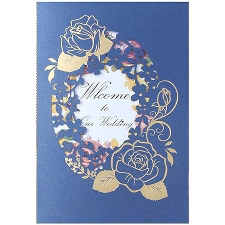 Jxs Wedding Kits De Tarjetas De Invitaciones De Boda