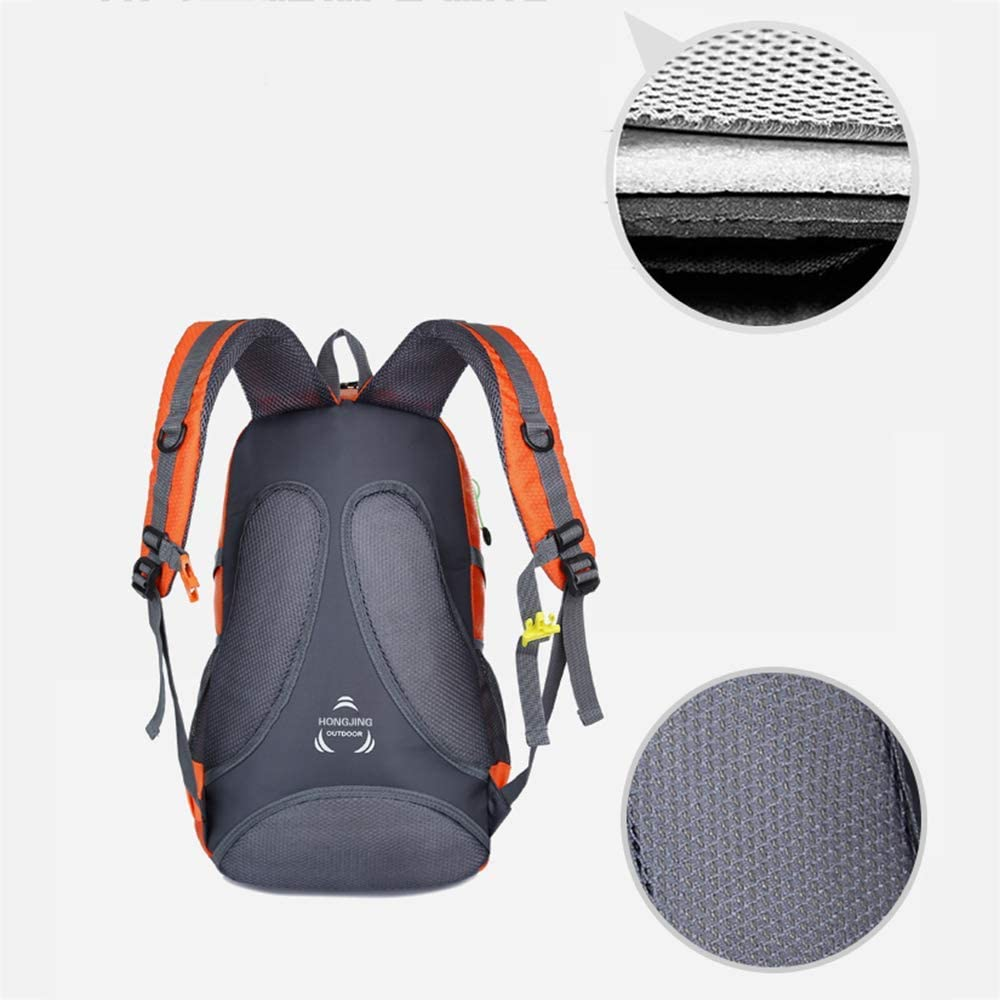 Empty 45L Hiking Travel Backpack Daypack Waterproof Trekking Rucksack with Laptop Compartment for Outdoor Sport Camping Traveling Cycling Unisex Rucksack KUNNGG