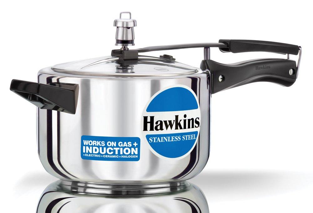 Hawkins B60 Pressure Cooker, 3 L, Silver A&J Distributors Inc.
