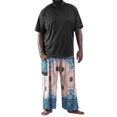 Pantalones Hombre Elegantes Tallas Grandes Verano Push Up Chandal ...
