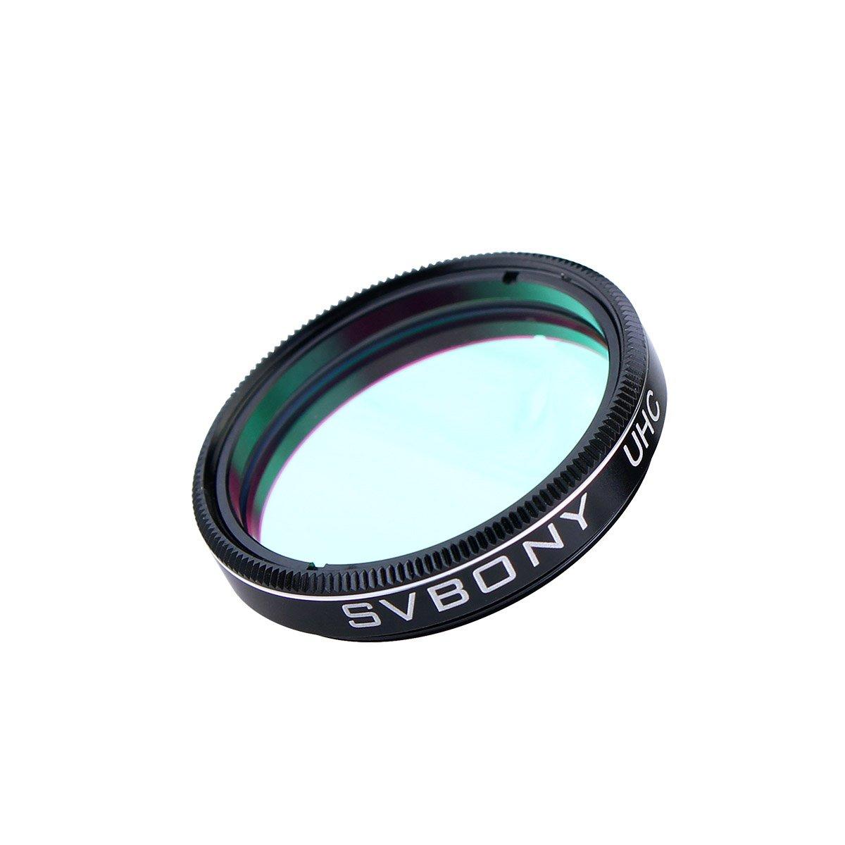 Svbony Filtre UHC 1.25 Ultra Haute Contraste Anti-Pollution pour N/ébuleuses Observation du Ciel Profond