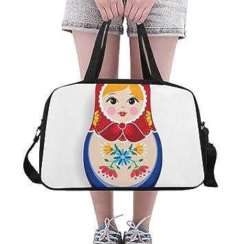 Amazon.com | Russian Nesting Matryoshka Doll Large Yoga Gym ...
