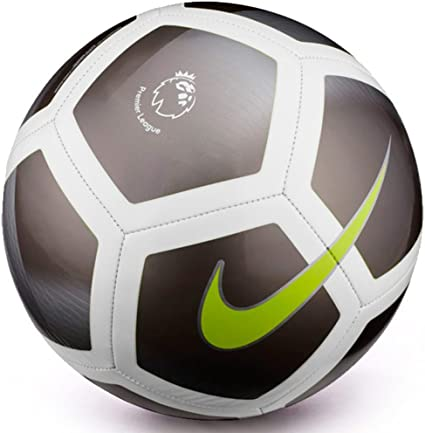 Balón de fútbol Nike Pitch, utilizado en la Premier League, color ...
