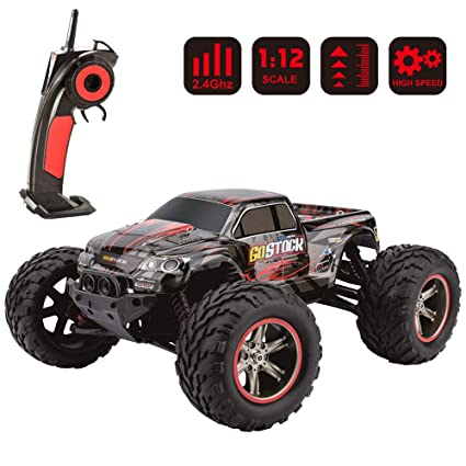 Remote Control Cars >> Rc Car Remote Control Car 2 4ghz Off Road Rc Cars Monster Truck 1 12 Scale Toy Cars Gifts High Speed