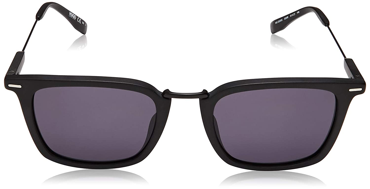 Hg 325 //S 0003 Matte Black//IR gray blue lens Sunglasses Hugo hug