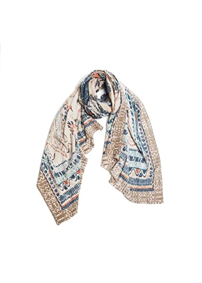 8373f84f81b ePretty Look by M Blended Cashmere Scarf (Abstract Antique) at ...