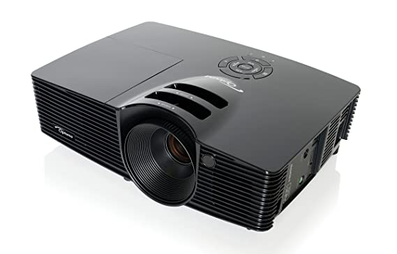 Optoma HD141X - Videoproyector (Full HD, 3000 lúmenes, HDMI, 10W), color negro