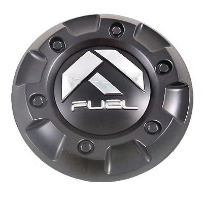 Fuel Matte Black Wheel Center Caps (Qty 1) # 1002-43: Automotive