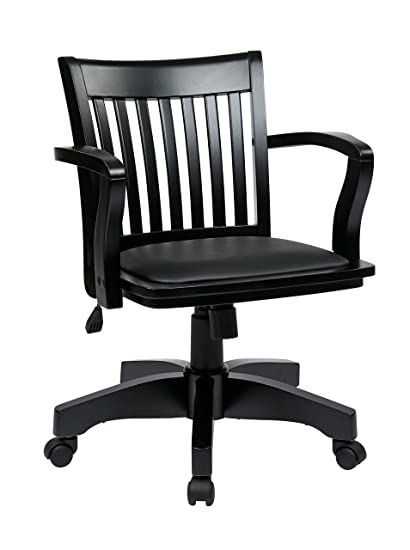 OSP Designs 108BK ESP Wood Bankers Chairs