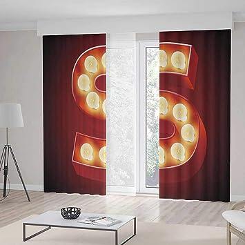 Amazon.com: C COABALLA Decor Collection,Letter S,for Bedroom ...