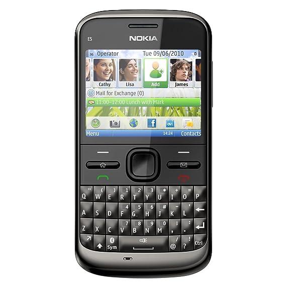 nokia e5 00 carbon black amazon in electronics rh amazon in Nokia E66 Nokia E7-00