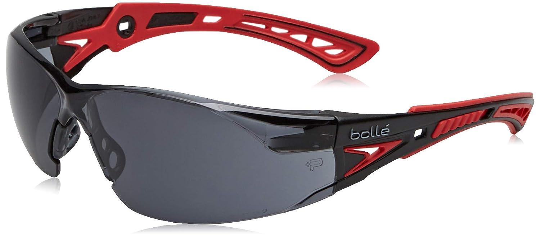 Bollé APRUSH+SMOKE - Gafas de seguridad (cristales ahumados), diseño deportivo