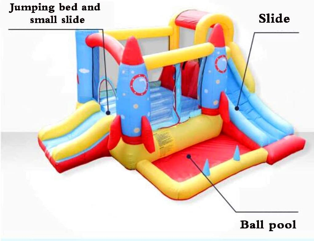 WJSW Castillos hinchables para niños, Juguetes inflables ...