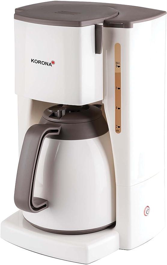 Korona - Cafetera con jarra térmica Thermokaffeeautomat 1 Kanne ...