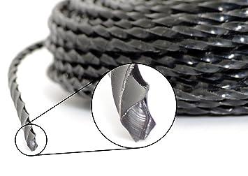 PROFI Verstärkt Mähfaden Trimmer 100 m 5 kant 3,0 mm Ersatzfaden Fadenkopf ZRG