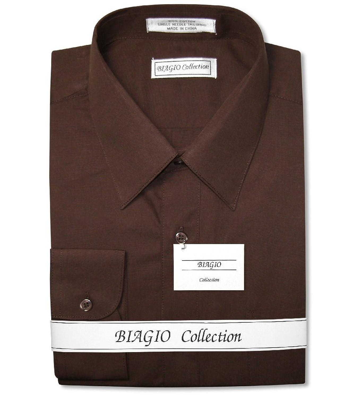 Chocolate colored dress shirt