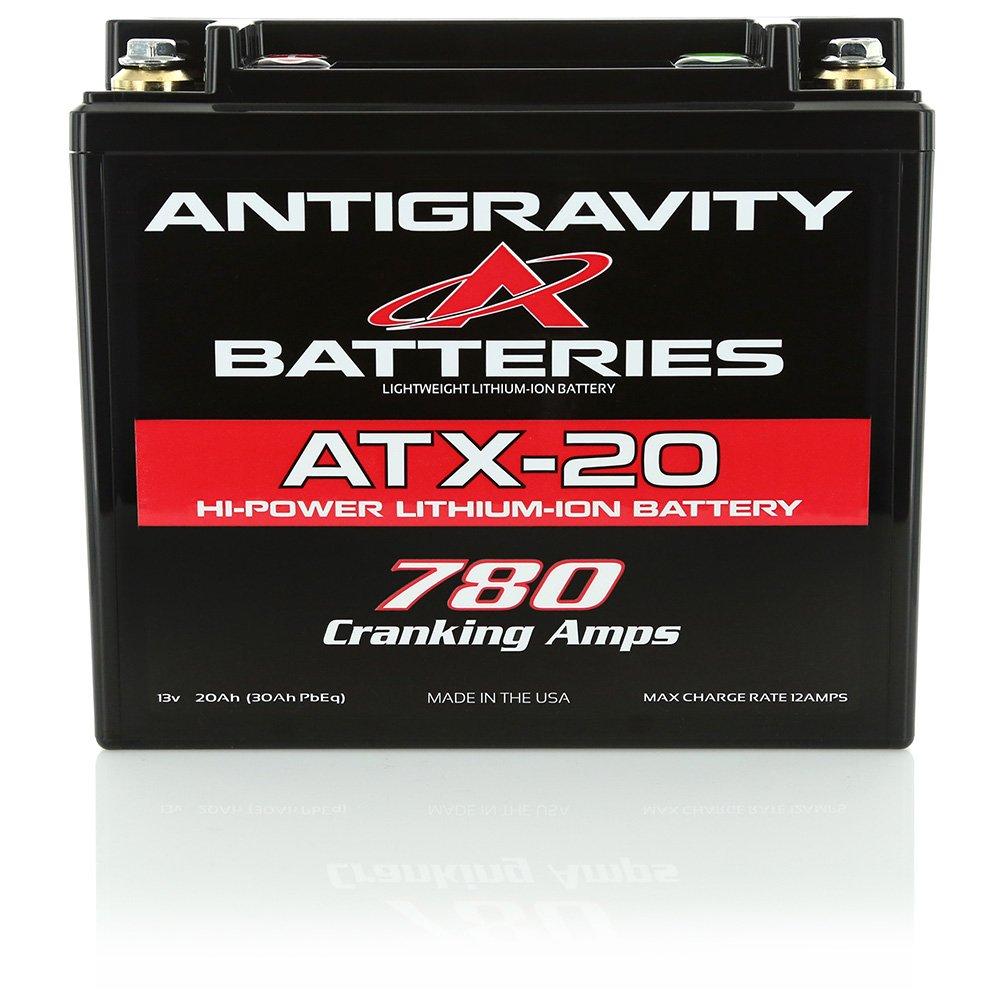 Antigravity Batteries ATX-20 Lithium Motorsports Battery, LEFT NEG TERMINAL, Extreme Power Series (XPS)