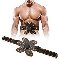 TMISHION Muscle Trainer EMS - Entrenador portátil Recargable de ABS - Abdomen/Brazo/Pierna Equipos de Ejercicios para el hogar para Hombres, Mujeres y Hombres