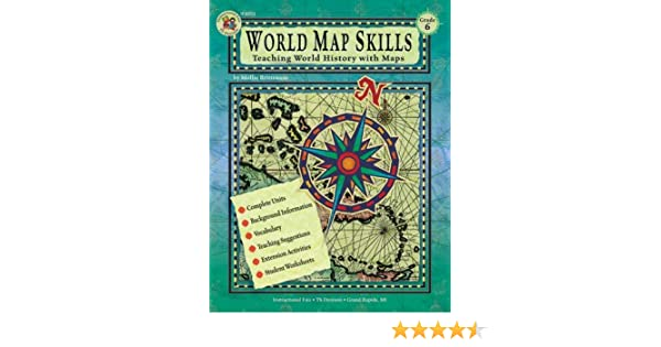 World Map Skills, Grade 6: School Specialty Publishing ...