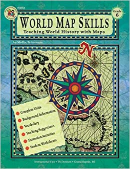 World map skills grade 6 school specialty publishing world map skills grade 6 school specialty publishing 9780880129350 amazon books gumiabroncs Gallery