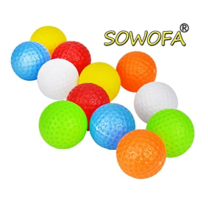 Amazon.com: Plástico Práctica pelotas de golf Accessory kits ...