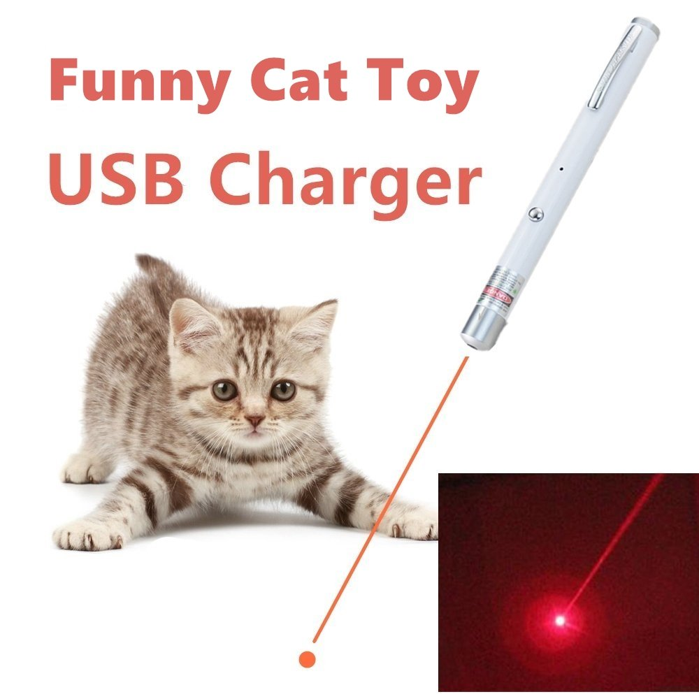 TriRanger Powerful upgrade module! Pet Cat Catch the Red Dot LED Light Interactive Exercise Toy Cat Lazer Training Tool