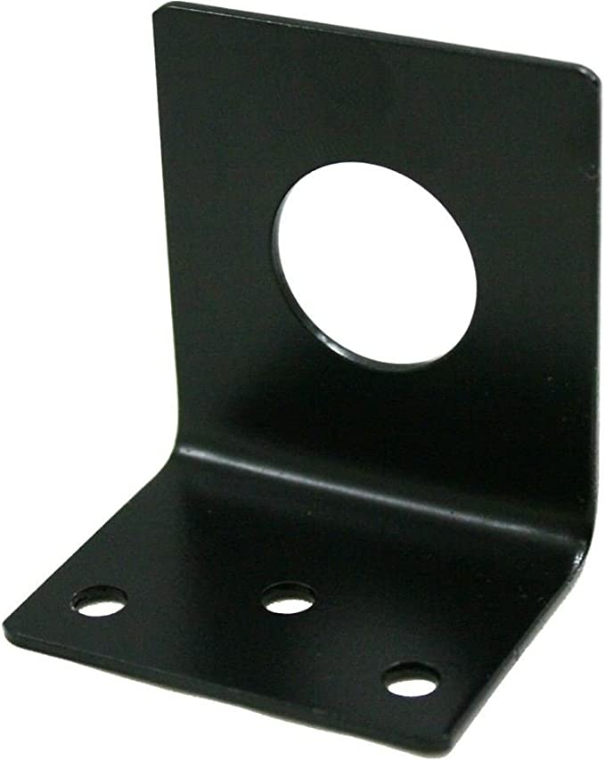 NMO 3//4 Inch Antenna Hole Mount L Bracket with Screws