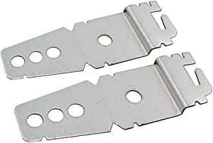 MAYITOP 2Pack 8269145 for Whirlpool Dishwasher instalation Upper Mounting Undercounter Bracket AP3039168 PS393134