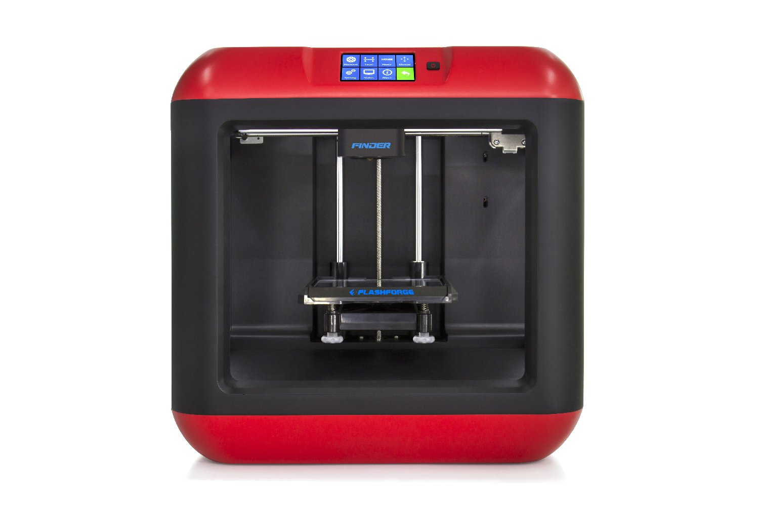 FlashForge Finder 3D Printers with Cloud, Wi-Fi, USB cable and Flash drive connectivity by FlashForge
