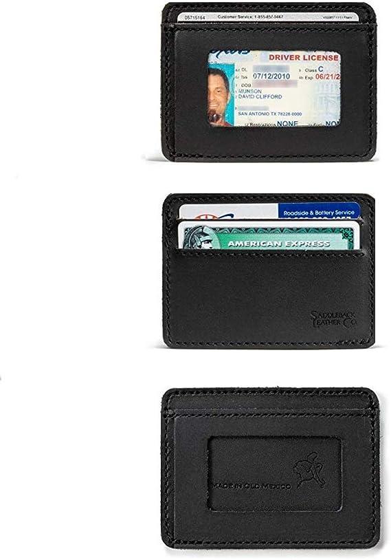 Amazon.com: Saddleback bolsillo frontal ID Wallet ...