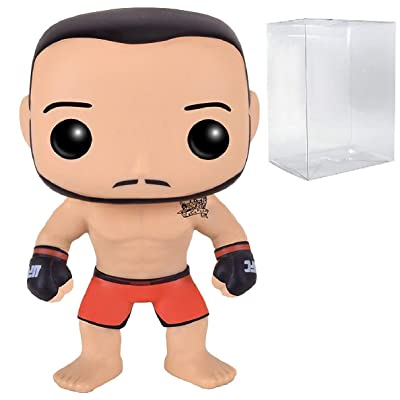 Funko Pop! UFC Ultimate Fighting - Jose Aldo #04 Vinyl Figure (Bundled with Pop Box Protector CASE): Toys & Games