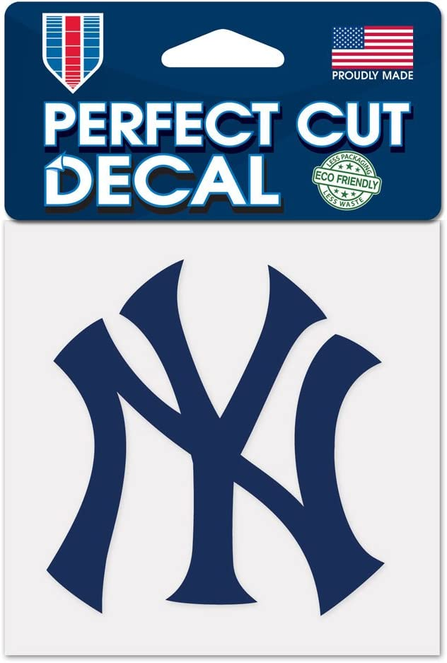 New York Yankees 4x4 Die Cut Decal