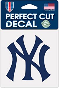 New York Yankees 4x4 Die Cut Decal