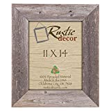 11×14 – 3.5″ Extra Wide Reclaimed Rustic Barnwood Wall Frame Review
