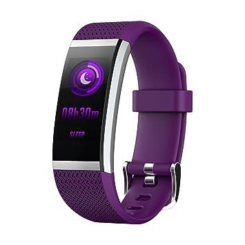 Montre Connectée, Willful Bracelet Connecté Smartwatch Fitness Tracker dActivité couleur écran Cardiofréquencemètre Podometre