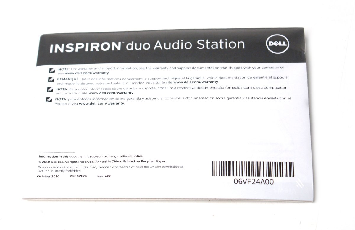 Amazon.com: Genuine Dell Inspiron Duo WMFD4 Audio Charging Docking Station Platform Pedestal Base, Compatible Dell Part/Model Numbers: FCFGJ, 331-1339, ...