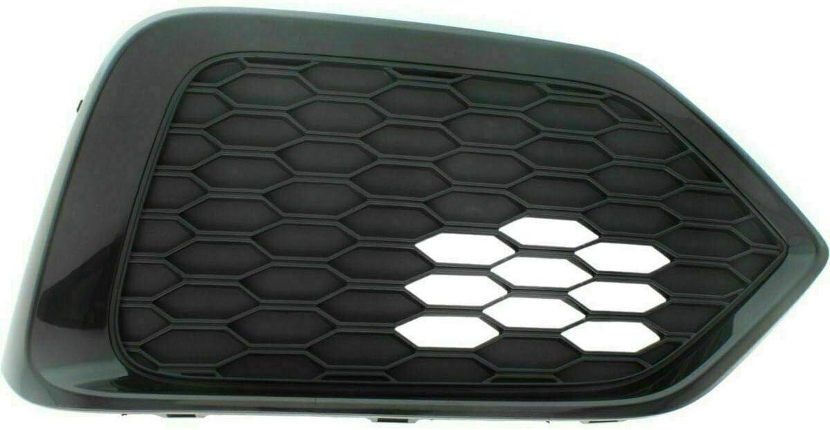 Passenger Side 73819VJ For 2012 Honda Civic Fog Light Cover Right