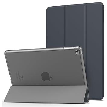 MoKo Funda para iPad Air 2 - Ultra Slim Función de Soporte Protectora Plegable Smart Cover Trasera Transparente Durable Para Apple iPad Air 2 (iPad 6) ...