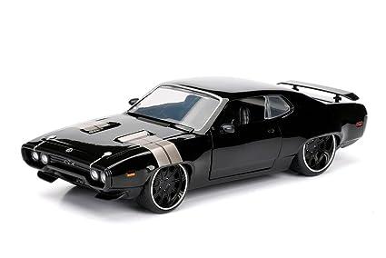 Amazon Com Jada Toys Fast Furious 8 Diecast Dom S Plymouth Gtx