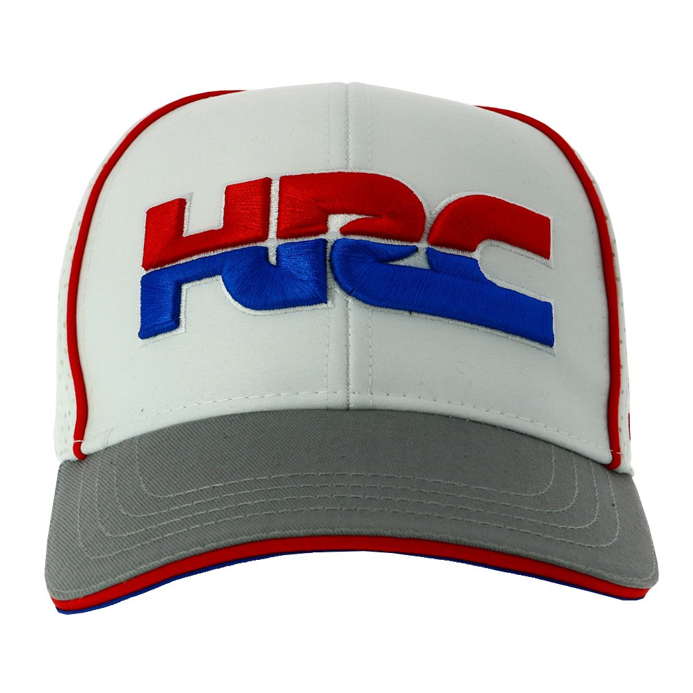 52c89f9d91b Amazon.com  Honda Team HRC 2018 White Trucker Style Baseball Cap Hat  Teamwear MotoGP MXGP  Automotive