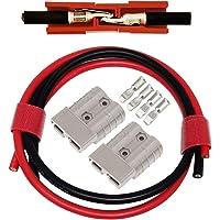 Conector de batería Set, 2 Pcs Enchufe rápido del conector de la batería para los modos de motocicleta Van del automóvil…