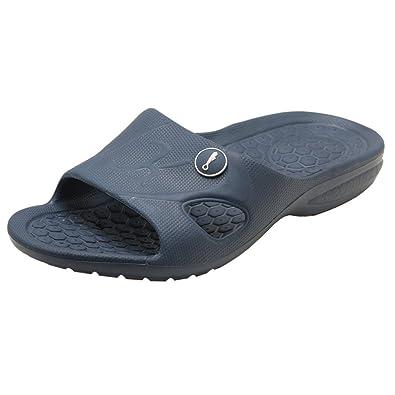 added5829 KENROLL 2017 Men s Bathroom Shower Anti Skid Sandals Slippers Non-Slip EVA  Flat Soles Flip