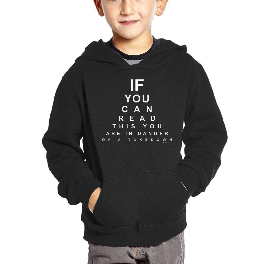 BlackRed Wrestling Sports Kids Long Sleeve Sweater 4 Toddler Black Unisex