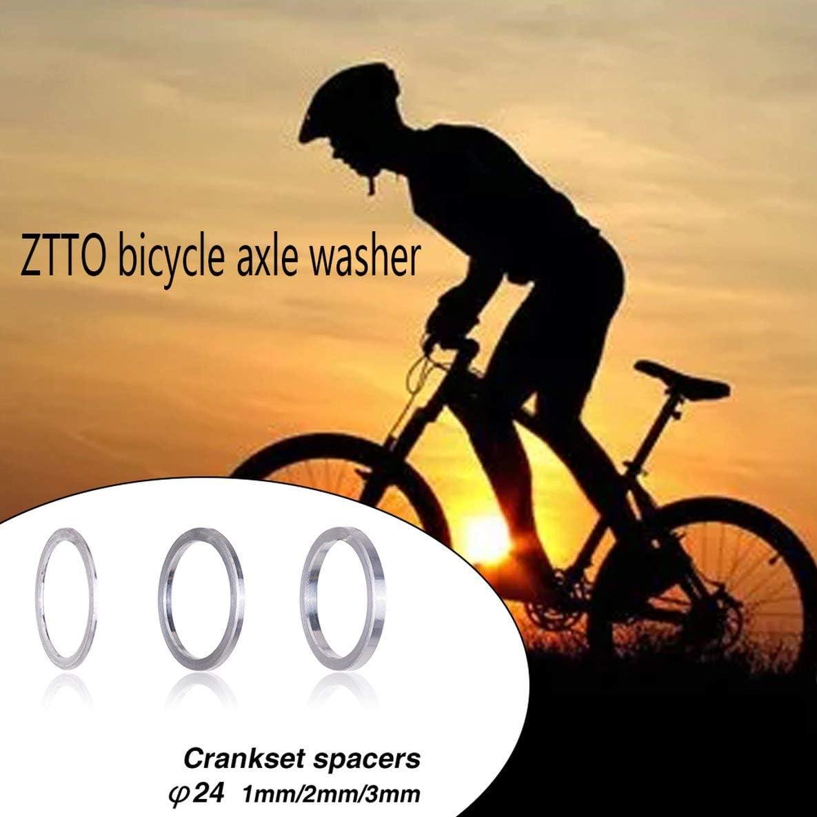 Rouku Tretlager Halter f/ür den dauerhaften Gebrauch Unterlegscheibenabstandshalter f/ür Rennrad-Mountainbike-Kettensatz Kurbelgarnitur BB-Abstandshalter