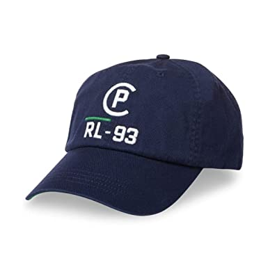 Polo Ralph Lauren Men s Adjustable CP-93 Cotton Chino Baseball Cap Hat  (Navy) ca88a1aebee