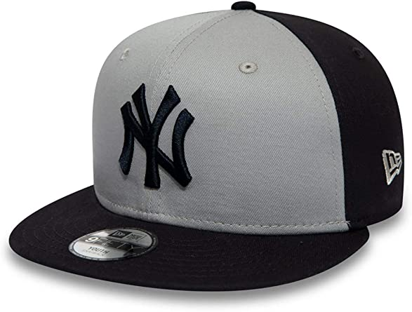 A NEW ERA Era NY Yankees - Gorra para niño, Color Gris y Azul ...